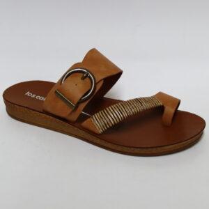 Los Cabos Bria Womens Sandals - Brandy